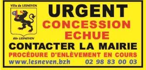 concession échue