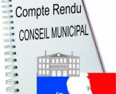 Conseil Municipal du 20 avril 2017