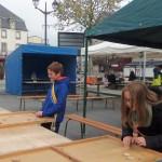 Nathan et Lalie à fond dans les jeux bretons