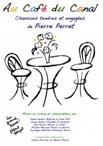 AFFICHETTE CAFÉ DU CANAL V4 300 AVEC BRAVO PP