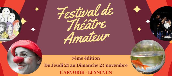 7ème Festival de Théâtre Amateur de Lesneven