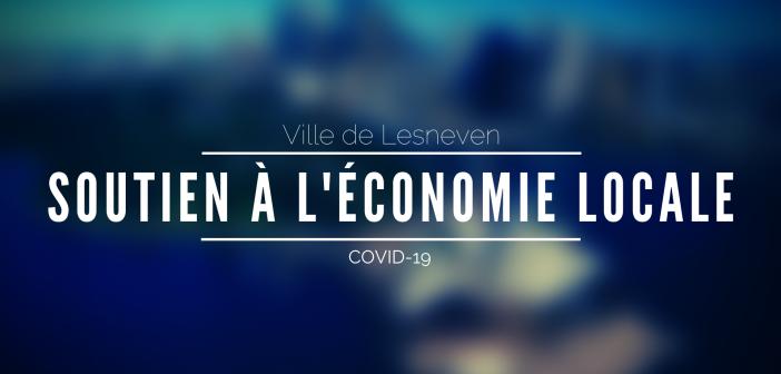 COVID-19 – La ville de Lesneven soutient l'économie locale