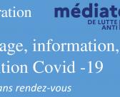 Dépistage, informations et prévention Covid-19 le lundi 26 avril en mairie de Lesneven !