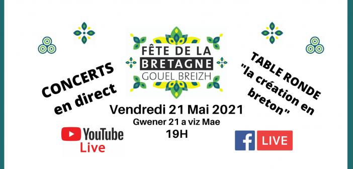Suivez la Fête de la Bretagne à Lesneven de chez vous ! Vendredi 21 mai à 19h